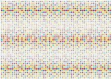 Polka dots illustration Royalty Free Stock Photos