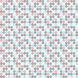 Polka dots pattern. Aged and worn paper with polka dots. Vector art Royalty Free Stock Photo