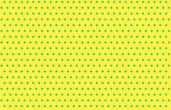 Polka dots pattern background. Fabric plaid yellow wallpaper backdrop simple modern vintage wool dress clothing shirt cage table picnic kilt repeat wrapping stock photo