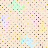 Polka dots pattern, Royalty Free Stock Photography