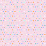 Polka dots pattern Royalty Free Stock Photo