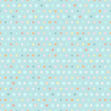 Polka dots pattern. Illustration of vintage background, polka dots pattern Royalty Free Stock Photo