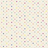 Polka dots pattern Stock Images