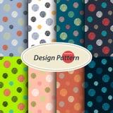 Polka dots pattern Stock Image