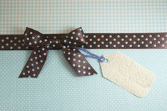 Polka dots ribbon Royalty Free Stock Images