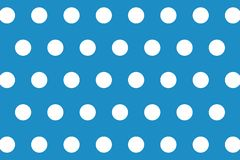 Polka Dots Seamless Pattern Background Disegno dell'illustrazione immagini stock