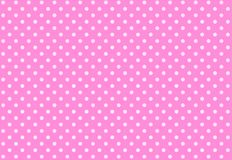 Polka dots seamless pattern background. Fabric, pink, flannel, plaid, simple, vintage, creation, clothes, dress, shirt, skirt, wallpaper, backdrop, popular stock photography