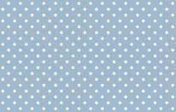 Polka dots seamless pattern background stock illustration