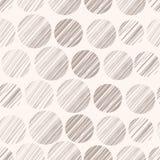 Polka dots seamless pattern Royalty Free Stock Photos
