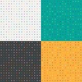 Polka dots set Royalty Free Stock Photography