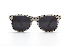 Polka dots sunglasses. Stock Photo