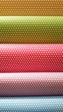 Polka Dots Wrapping Papers Royalty Free Stock Photo