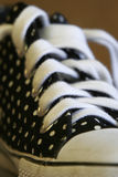 Polka-dotted Sneaker  Royalty Free Stock Photo