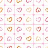 Polka heart Royalty Free Stock Images