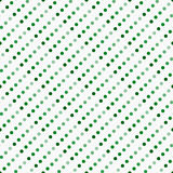 Polka multicolore e bianca verde Dot Abstract Design Tile Pat illustrazione di stock