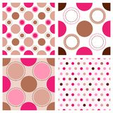Polka pattern Royalty Free Stock Photo