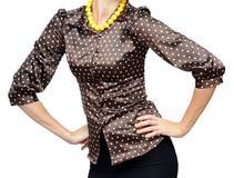 Polka-pricka skjortan Royaltyfri Fotografi