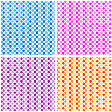 Polka-Punkte - nahtloses Muster Lizenzfreie Stockfotos