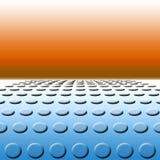 Polka-Punkte zum Horizont Lizenzfreie Stockbilder