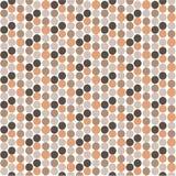 Polka Seamless Pattern. Simple Delicate Spot Pattern. Stock Image