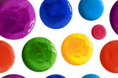 Polka tirée par la main Dots Seamless Texture illustration libre de droits