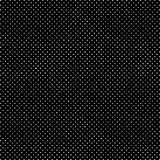 Polka tirée par la main tramée affligée Dots Dark Pattern Background Illustration de Vecteur