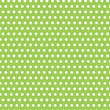 Polka vert pomme lumineuse Dot Background Photos libres de droits
