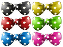 Polkadot bow tie Royalty Free Stock Photography
