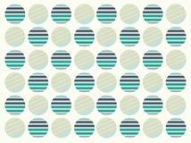 Polkadot seamless pattern - retro pattern Royalty Free Stock Images