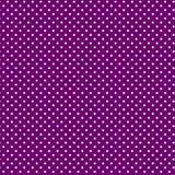 背景polkadots紫色小的白色 图库摄影