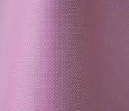 Polkapunkte auf Latten - Rosa Stockbilder