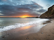 Polkerris Beach Royalty Free Stock Photography