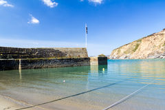 Polkerris Cornwall Royalty Free Stock Photos