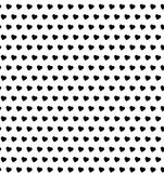Polki kropki serc bezszwowy wzór fotografia royalty free