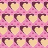 Polki kropki serce ilustracji