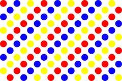 polki kropki wzór Zdjęcia Stock