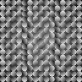 polki kropki wzór Wektorowy bezszwowy popielaty tło ilustracji