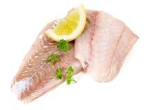 Pollakfilet - Vissen stock afbeelding