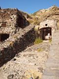 Pollara, isola della salina, Sicilia, Italia Fotografia Stock Libera da Diritti