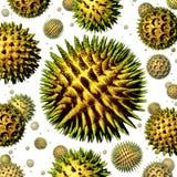 Pollen vektor illustrationer
