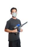 Pollen gratuit en nettoyant à l'aspirateur Photographie stock