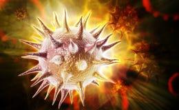 Pollen virus Royalty Free Stock Photography