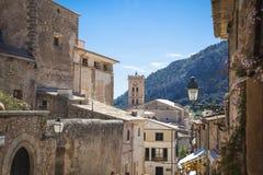 Pollenca village in Mallorca. Pollenca, old village on the island of Mallorca Stock Photos