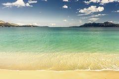 Pollensa beach in Majorca Stock Photo