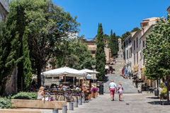 Pollensa Old Town, Majorca. Royalty Free Stock Images