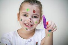 Pollice colorato immagine stock libera da diritti