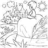 Pollice di Tom (carattere di fairy-tale) Fotografie Stock