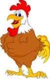 Pollice sveglio del fumetto del gallo su Fotografie Stock Libere da Diritti