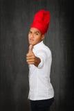 Pollici del cuoco unico su immagine stock libera da diritti