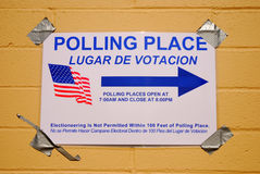 Polling Place Royalty Free Stock Photo